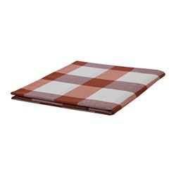 RUTIG nappe, à carreaux rouge