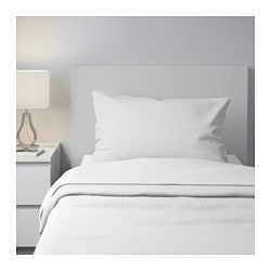 NORDRUTA sheet set, white Thread count: 86 /inch² Thread count: 86 /inch²