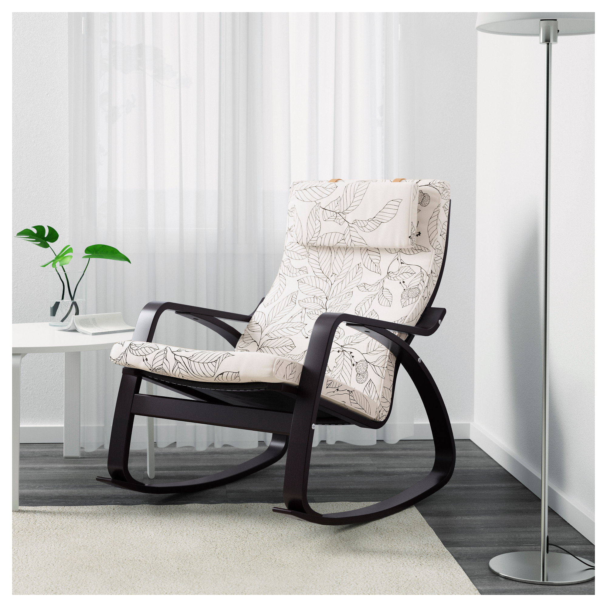"PO""NG Rocking chair Ransta natural IKEA"