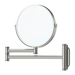 BROGRUND mirror, stainless steel