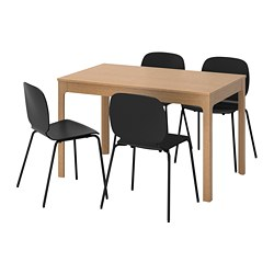 EKEDALEN /  SVENBERTIL Table and 4 chairs