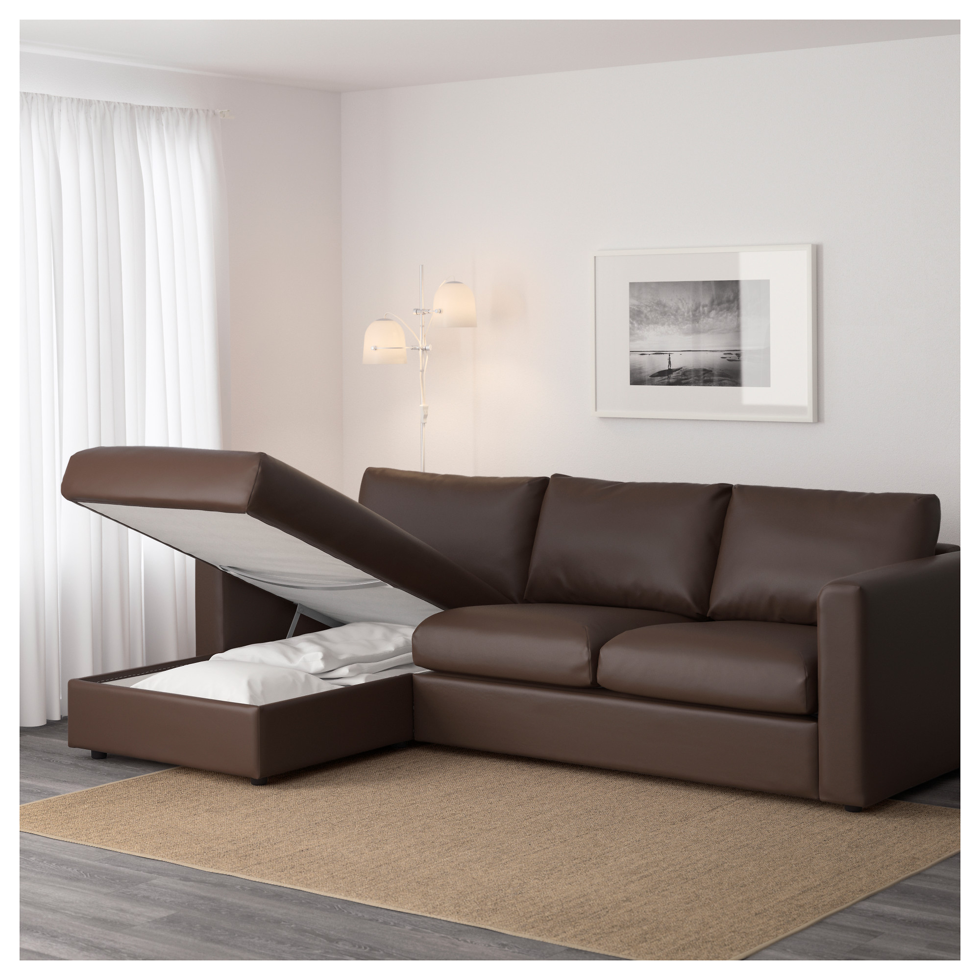 piece sectional number item and sofa couch maier benchcraft sleeper charcoal products w left chaise
