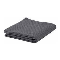SALVIKEN hand towel, anthracite