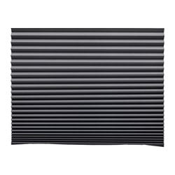 SCHOTTIS block-out pleated blind, dark grey