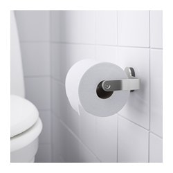 Brogrund Toilet Roll Holder Stainless Steel