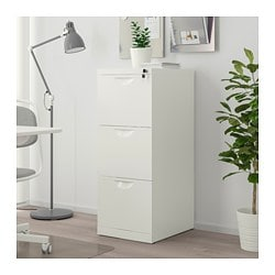 Ordinaire ERIK File Cabinet, White