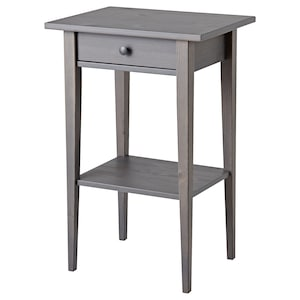 Color: Dark gray stained.