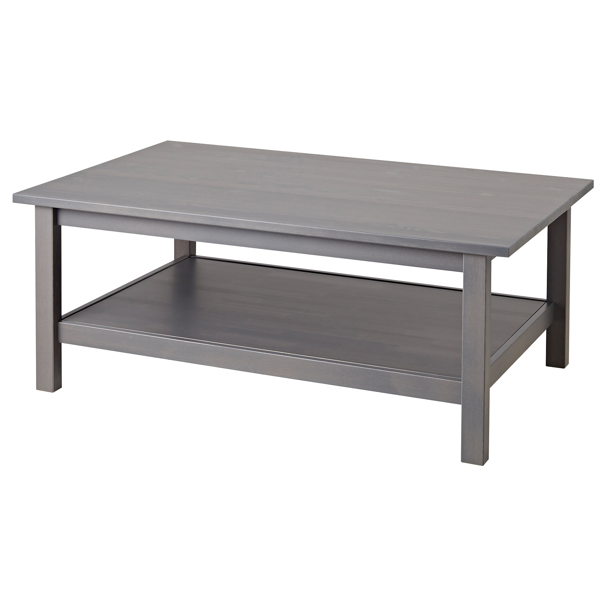 Coffee tables glass wooden coffee tables ikea hemnes coffee table dark gray gray stained length 46 12 width geotapseo Gallery