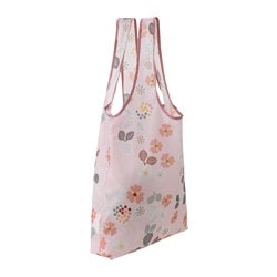 BLOMBUKETT carrier bag, foldable Length: 45 cm Depth: 10 cm Height: 45 cm