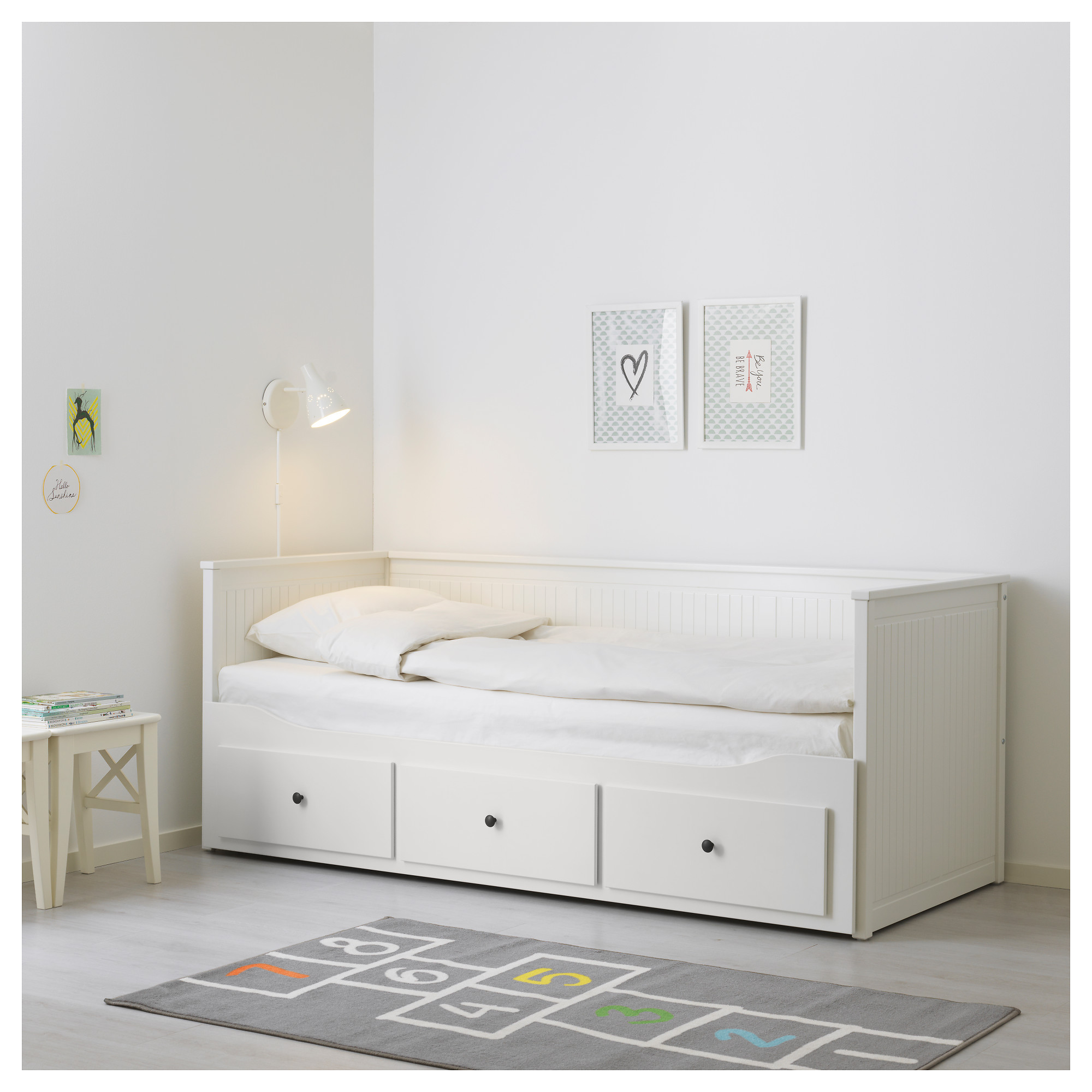HEMNES Day bed frame with 3 drawers IKEA