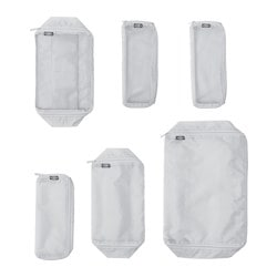 FÖRFINA travel bags, set of 6