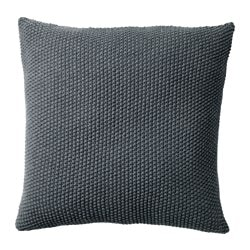 DORTHE cushion, dark grey