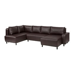 DJURSBO, Sectional, 3 seat, Kimstad brown