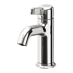 "VOXNAN bathroom faucet, chrome plated Height: 7 1/8 "" Height: 18 cm"