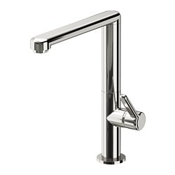 LÖVSKÄR wash-basin mixer tap with strainer, chrome-plated