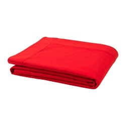 VINTER 2017 tablecloth, bright red