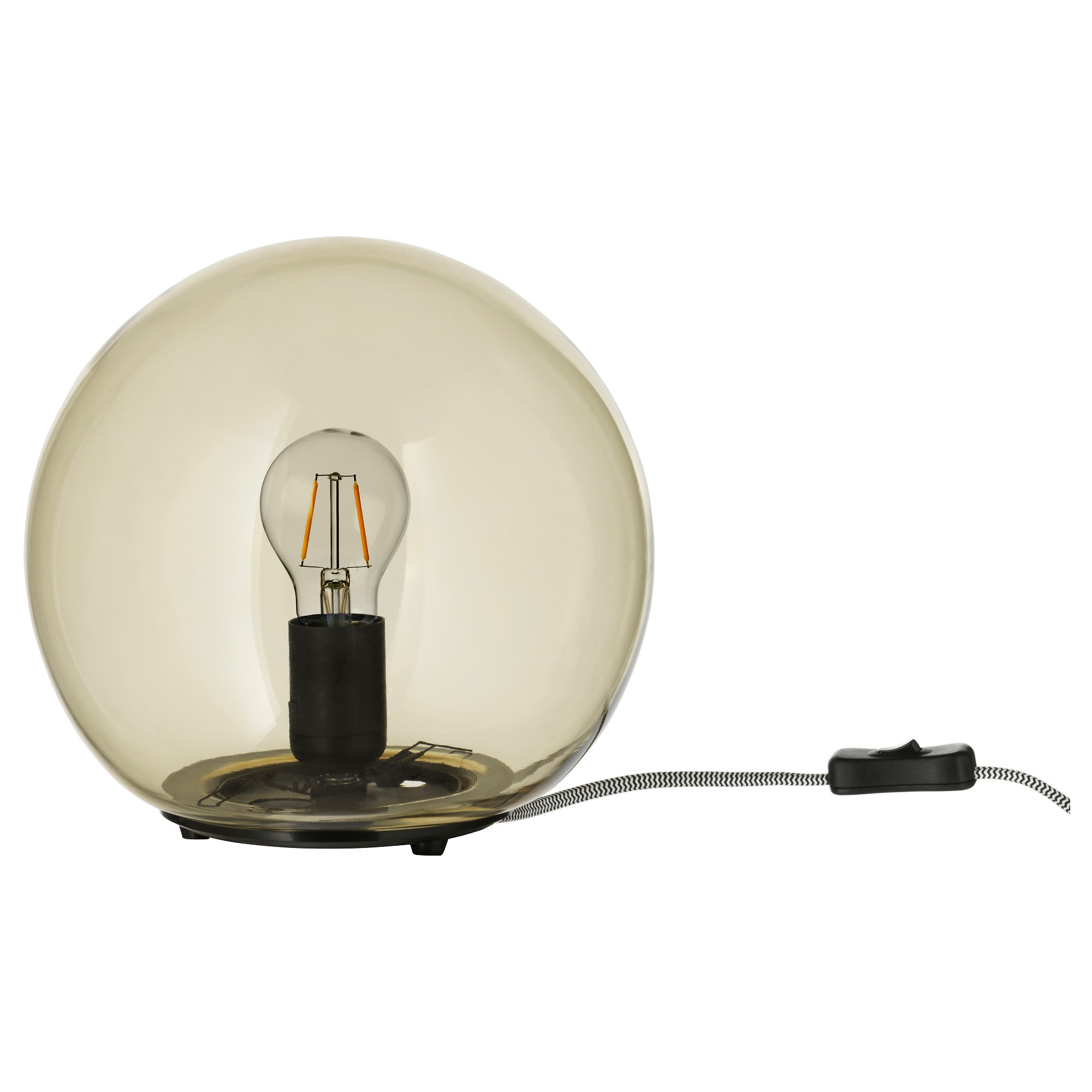 Table lamps ikea fado table lamp with led bulb yellow height 9 diameter 10 geotapseo Gallery