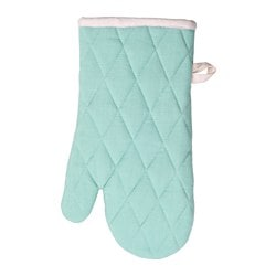 "UDDIG oven mitt, light blue Length: 13 "" Length: 33 cm"