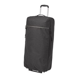 FÖRENKLA duffle bag on wheels Width: 38 cm Depth: 27 cm Height: 80 cm