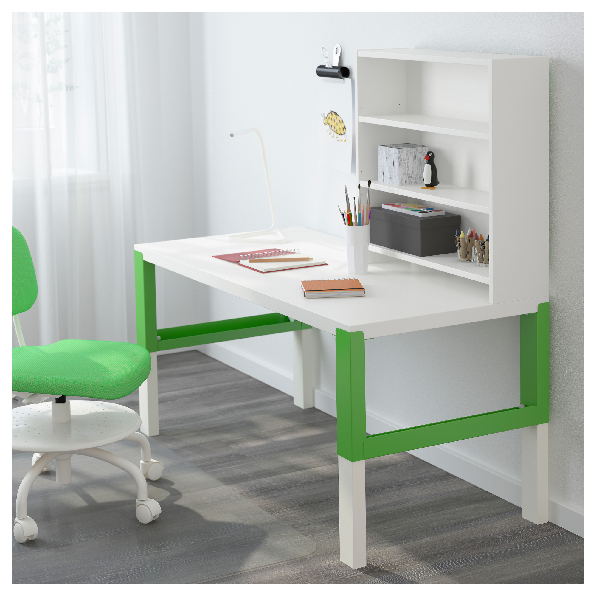 slim fe with computer size santa bookcase desk bookshelf
