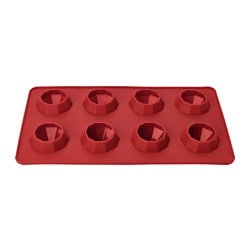 BAKGLAD, Mould, silicone red