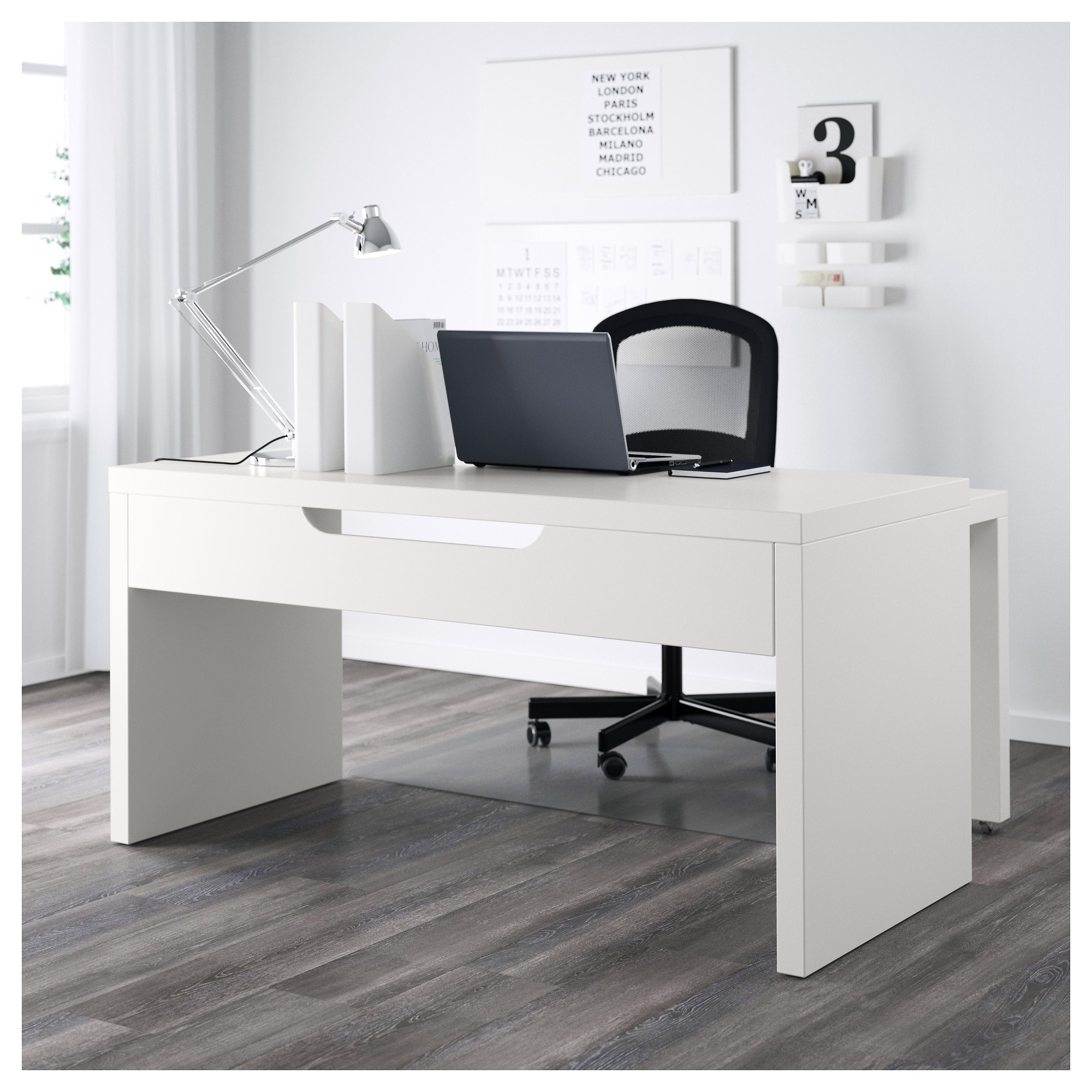 desk and wooden white interior ultra ideas in download finish furniture howiezine modern image office designs