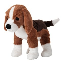 GOSIG VALP soft toy, dog, beagle Length: 35 cm