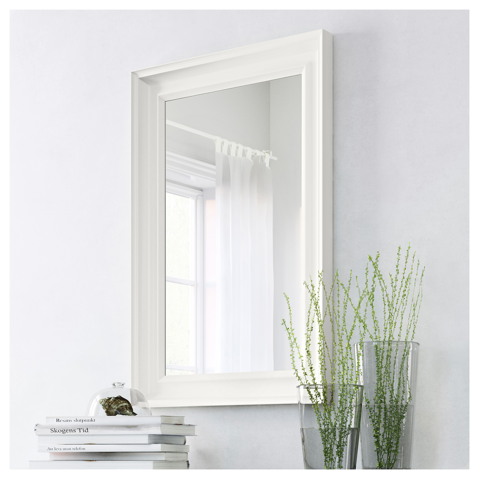 Superieur HEMNES Mirror, White