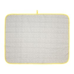 KLÄMMIG, Changing pad, gray, yellow