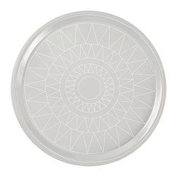 VINTER 2017 tray, grey Diameter: 43 cm