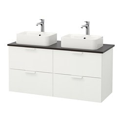 White Bathroom Sink Cabinets bathroom vanities & countertops - ikea