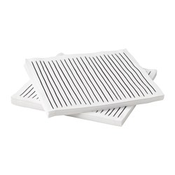 INBITEN paper napkin, white, striped Length: 33 cm Width: 33 cm Package quantity: 30 pack