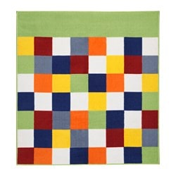 LATTJO rug, low pile, multicolor