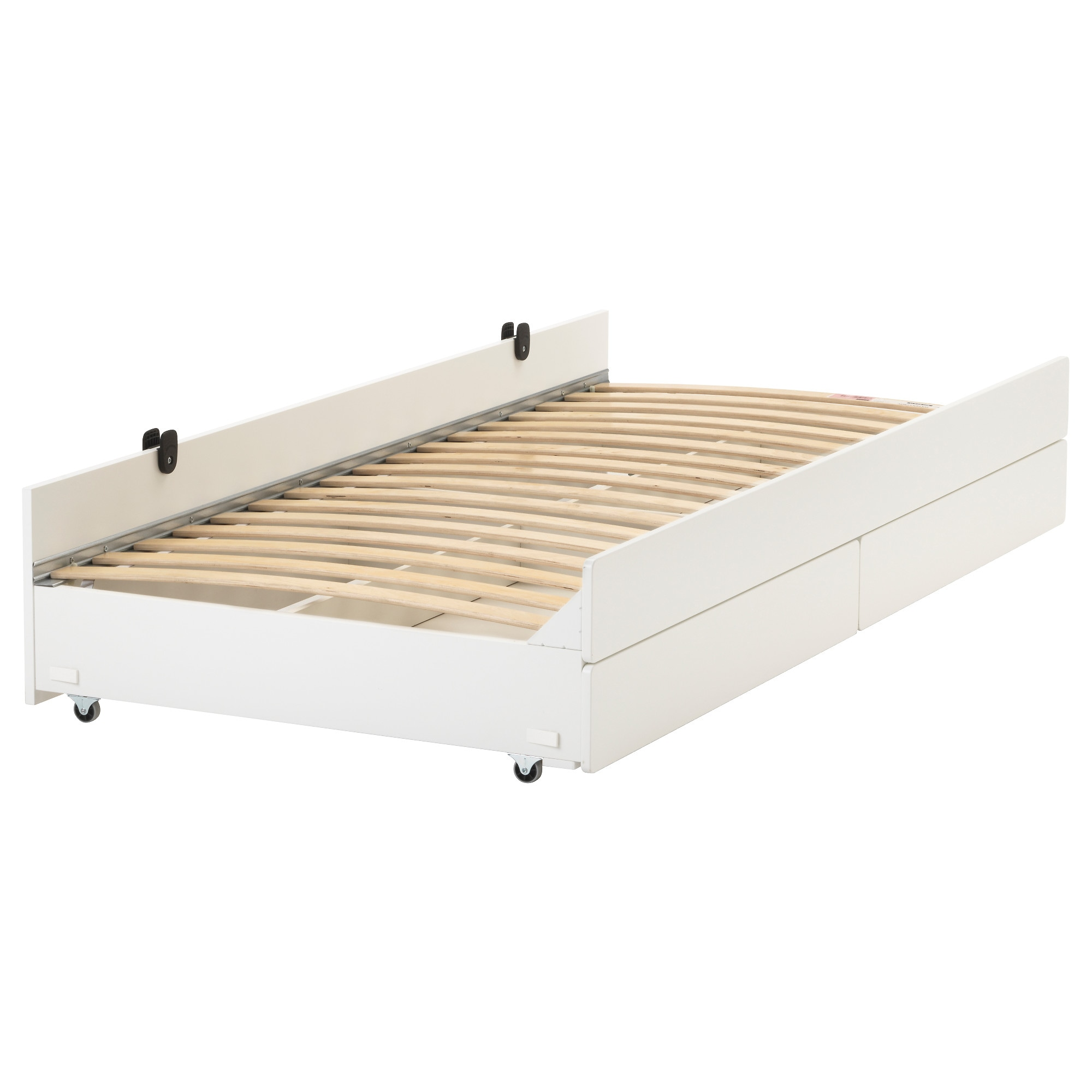 "SL""KT Pull out bed with storage IKEA"