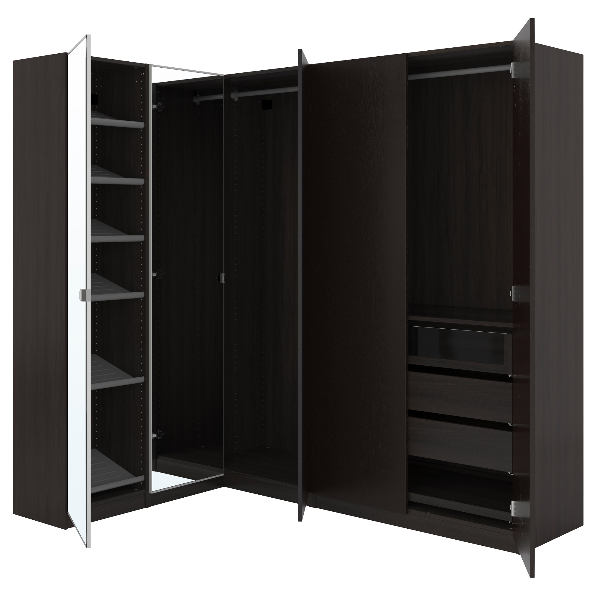 pax series customizable wardrobes ikea