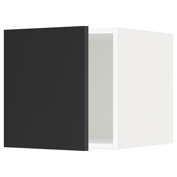 metod oberschrank wei uddevalla anthrazit ikea. Black Bedroom Furniture Sets. Home Design Ideas