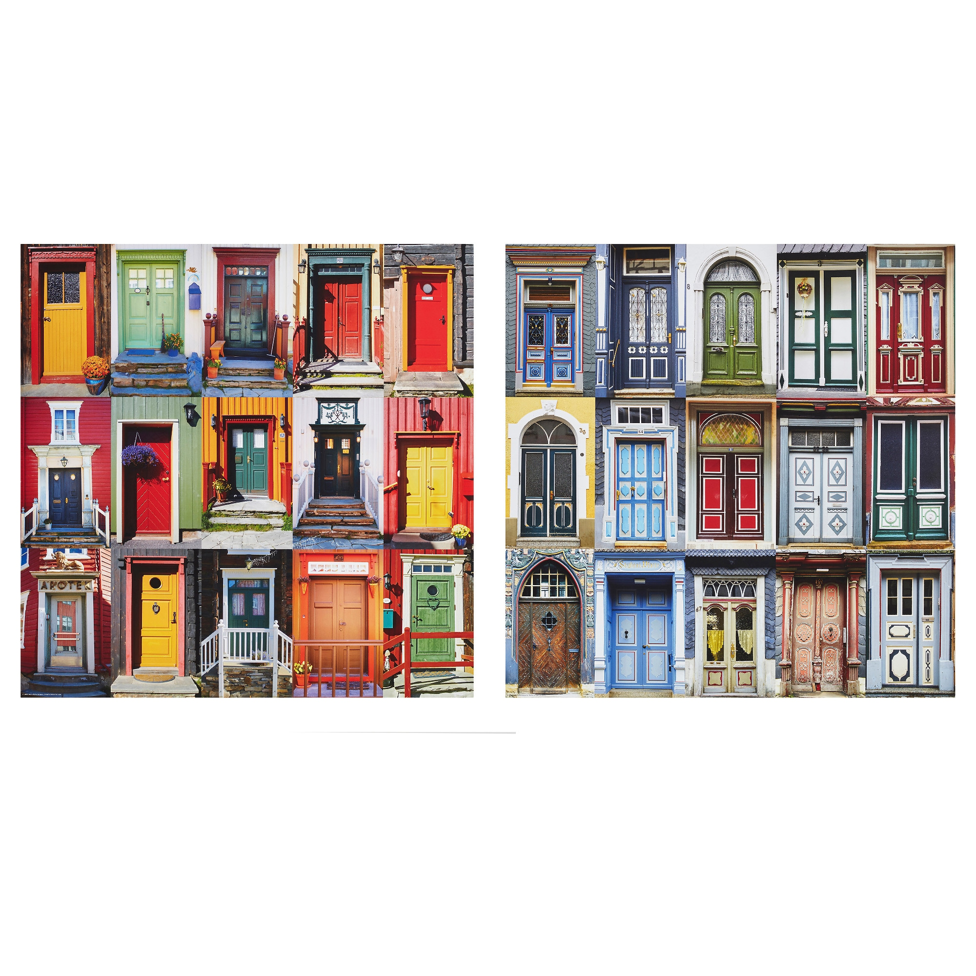 Posters wall art ikea edelvik poster set of 2 windows and doors 1 width 19 amipublicfo Images