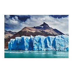 "EDELVIK poster, Perito Moreno Glacier, Argentina Width: 24 "" Height: 35 ¾ "" Width: 61 cm Height: 91 cm"