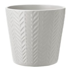 VINTER 2017 plant pot, light gray
