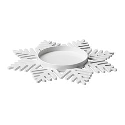 VINTER 2017 candle dish Diameter: 17 cm