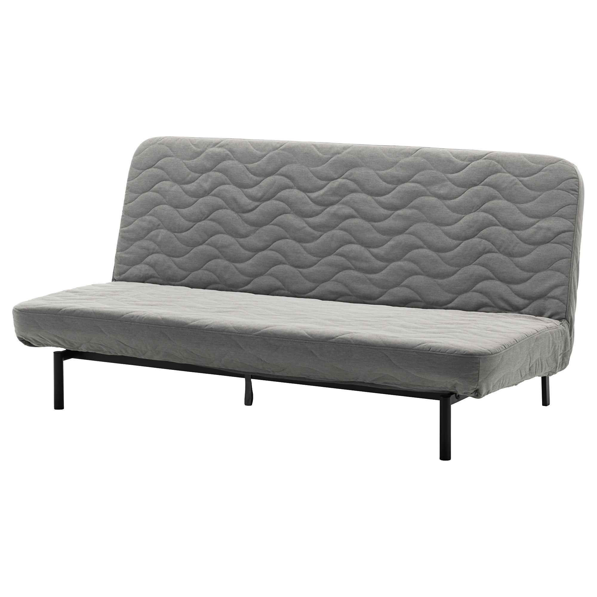 Sleeper Sofa Nyhamn With Pocket Spring Mattress Knisa Gray Beige