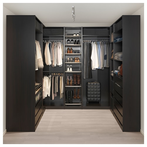 PAX Wardrobes Without Doors - IKEA