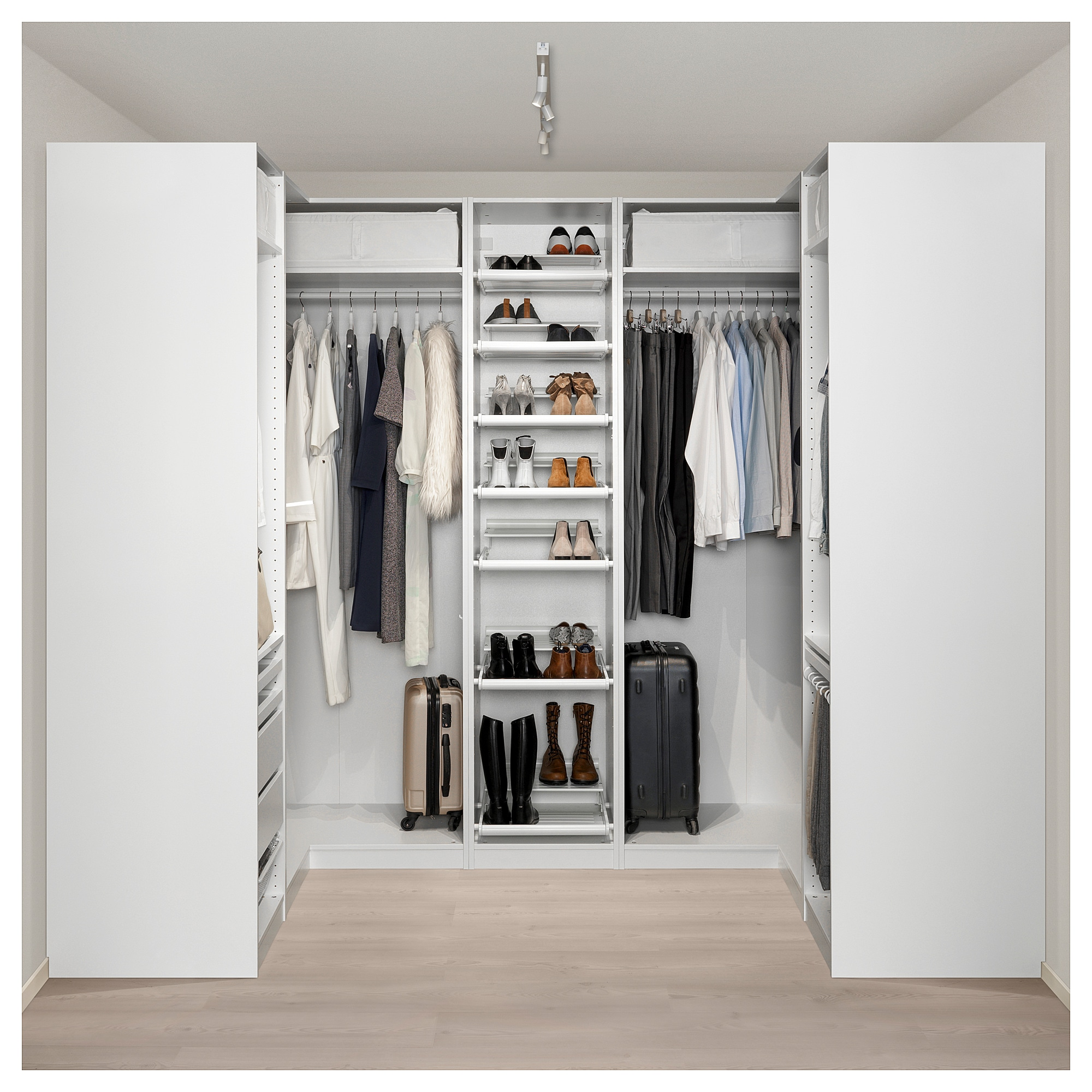 popular walk closet in system ikea style ideas