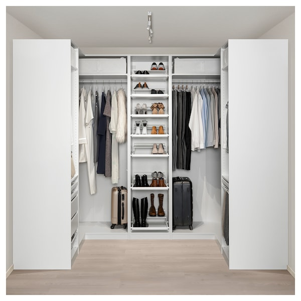 Armoire D Angle Pax Blanc