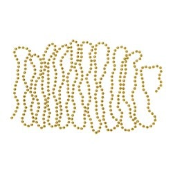 VINTER 2017 garland, pearls gold Length: 5 ½ yard Length: 5 m