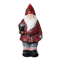 "VINTER 2017 decoration, Santa Claus Height: 10 ¼ "" Height: 26 cm"