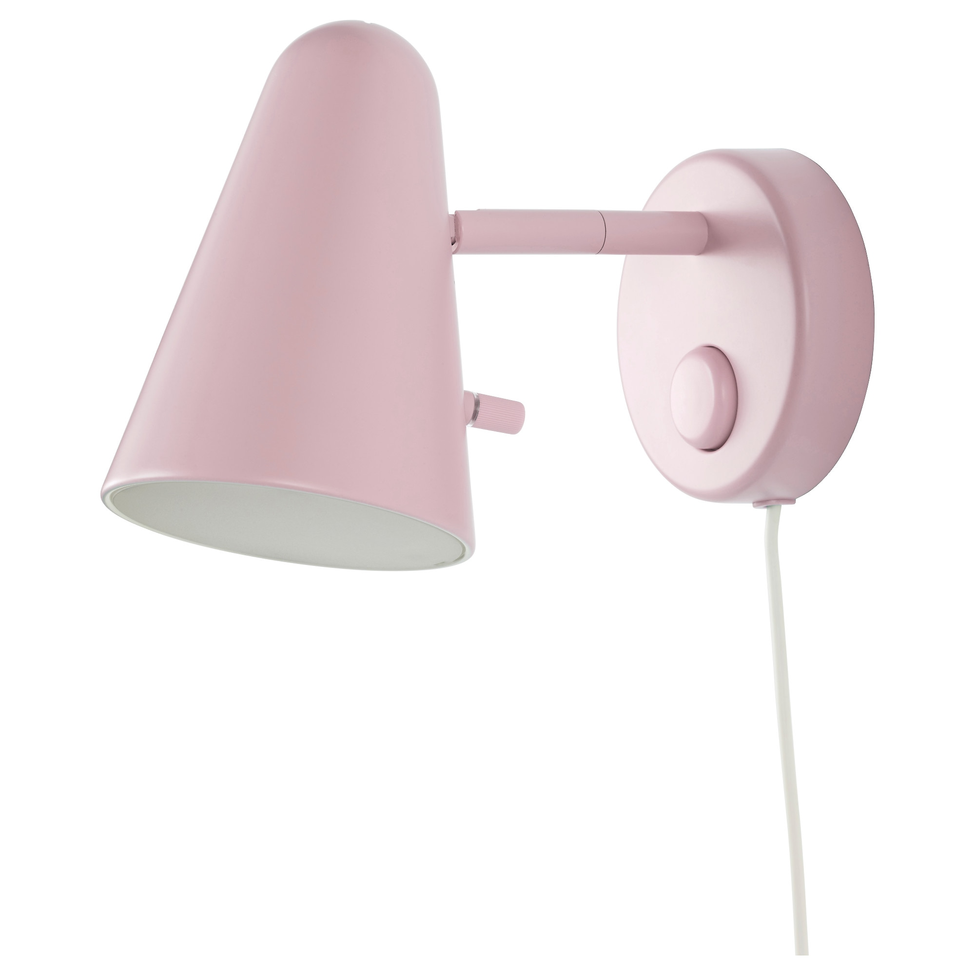 FUBBLA Wall Lamp, Light Pink