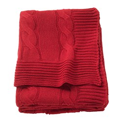 URSULA throw, red
