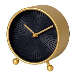 SNOFSA clock Depth: 5.5 cm Diameter: 11 cm