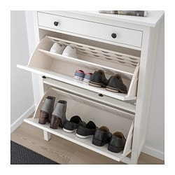 hemnes shoe cabinet with 2 white ikea family member price